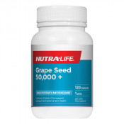 Nutra-Life Grape Seed 50,000+ 120 Capsules
