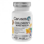Carusos Childrens Bone Health 60 Chewable Tablets