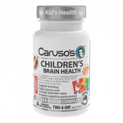 Carusos Childrens Brain Health 50 Chewable Soft Capsules