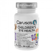 Carusos Childrens Eye Health 50 Chewable Soft Capsules