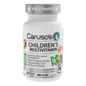 Carusos Childrens Multivitamin 60 Chewable Tablets