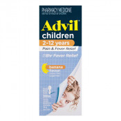 Advil Childrens Pain & Fever Suspension 2-12 Years 200ml