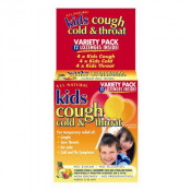 All Natural Kids Cough Cold & Throat 12 Lozenges