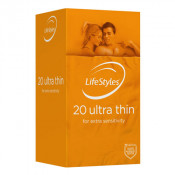 Lifestyles Condoms Ultra Thin 20 Pack