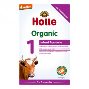 Holle Organic Cow Milk 1 Infant Formula with DHA 600g