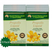 Australian by Nature Propolis Liquid Alcohol Free 25ml x 10 Pack
