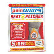 Pain Away Heat Patches Regular 5 Pack