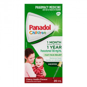 Panadol Childrens 1 Month-1 Year Colour Free with Dropper 20ml