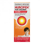 Nurofen for Children Strawberry 5 - 12 Years 100ml