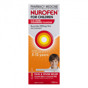 Nurofen for Children Strawberry 5 - 12 Years 200ml