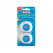 Oral B Essential Dental Floss Waxed 2 x 50m
