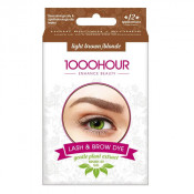 1000 Hour Eyelash & Brow Plant Based Dye Kit Light Brown/Blonde