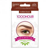 1000 Hour Eyelash & Brow Plant Based Dye Kit Medium Brown
