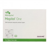 Mepitel One Soft Silicone Wound Contact Layer 289270 9cm x 10cm 5 Pack