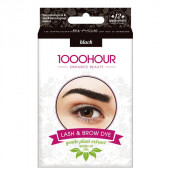 1000 Hour Eyelash & Brow Plant Based Dye Kit Black