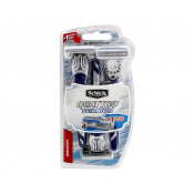 Schick Quattro Men Disposable Razor Blades 3 Pack