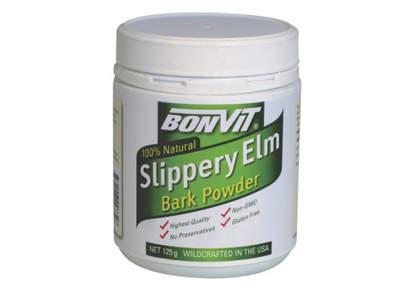 Bonvit 100% Natural Slippery Elm Bark Powder 125g