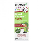 Brauer Baby & Kids Liquid Vitamin D 400IU 10ml