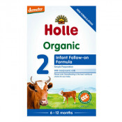 Holle Organic Cow Milk 2 Infant Follow-On with DHA 600g