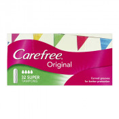 Carefree Original Tampons Super 32 Pack