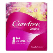 Carefree Original Liners Unscented 30 Pack