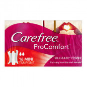 Carefree ProComfort Dynamic Fit Mini Tampons 16 Pack