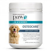 Blackmores Paw Osteocare Joint Health Chews 300g (Expiry November 2021, no refunds or exchanges)