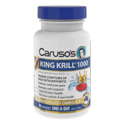 Carusos King Krill 1000mg 30 Capsules
