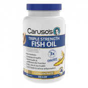 Carusos Triple Strength Fish Oil Concentrate 150 Capsules