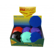 Nu Brush Hair & Scalp Brush 1 Pack (Colours selected at random)