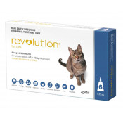 Revolution Small Cats 2.6-7.5kg Blue 6 Pack
