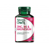 Natures Own Zinc, B6 & Magnesium 200 Tablets
