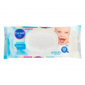 Curash Vitamin E Baby Wipes 80 Pack