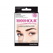 1000 Hour Eyelash & Brow Dye Kit Brown/Black
