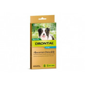Drontal Allwormer Chewable Dogs 10kg Chews 5 Pack