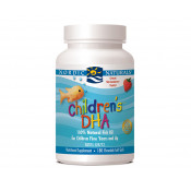 Nordic Naturals Childrens DHA Strawberry 180 Chewable Soft Gels