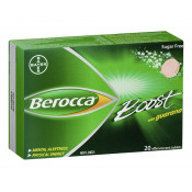 Berocca Boost with Guarana 20 Effervescent Tablets