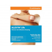 Smith & Nephew Allevyn Life Silicone Gel Adhesive Dressing Small 10.3cm x 10.3cm 2 Pack