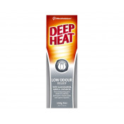 Deep Heat Low Odour Relief 100g