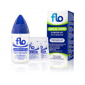 Flo Sinus Care Starter Kit with 12 Sachets & 1 Flo Wash Bottle