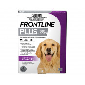 Frontline Plus for Large Dogs 20-40kg Purple 6 Doses