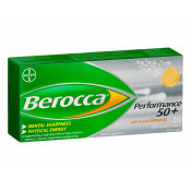 Berroca Performance 50+ 30 Effervescent Tablets