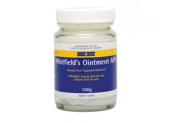 Gold Cross Whitfield Ointment 100g