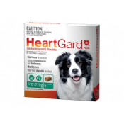 Heartgard Plus Chewables Medium Dogs 12-22kg Green 6 Tablets