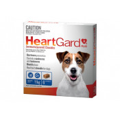 Heartgard Plus Chewables Small Dogs up to 11kg Blue 6 Tablets