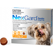 Nexgard Chewables For Dogs 2-4kg 6 Pack