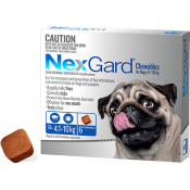 Nexgard Chewables For Dogs 4.1-10kg 6 Pack (Exp: June 2021, no refunds or exchanges)