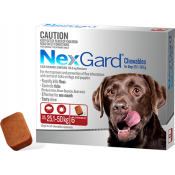 Nexgard Chewables For Dogs 25.1-50kg 6 Pack