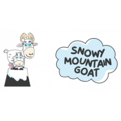 Snowy Mountain Goat