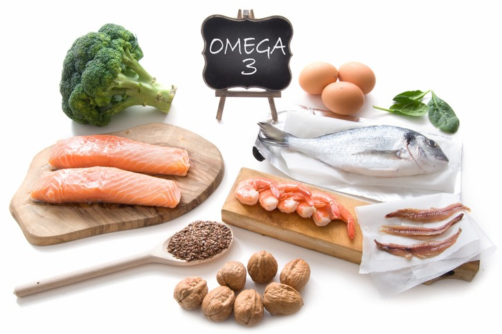 Foods rich in Omega-3 fats